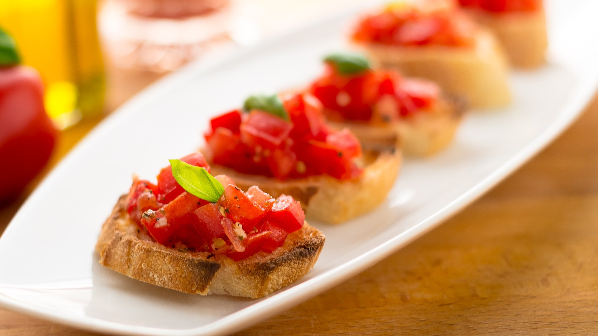 Bruschetta Recipe — Dishmaps