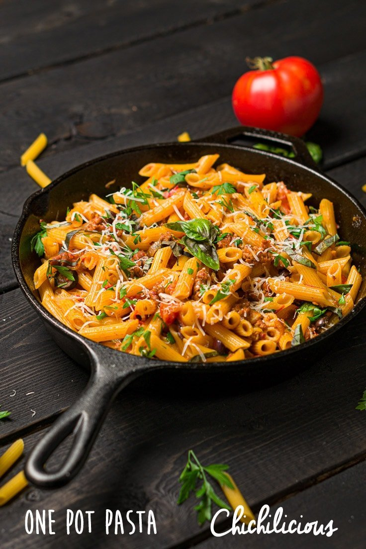 one-pot-pasta-recipe-chichilicious-pinterest-food