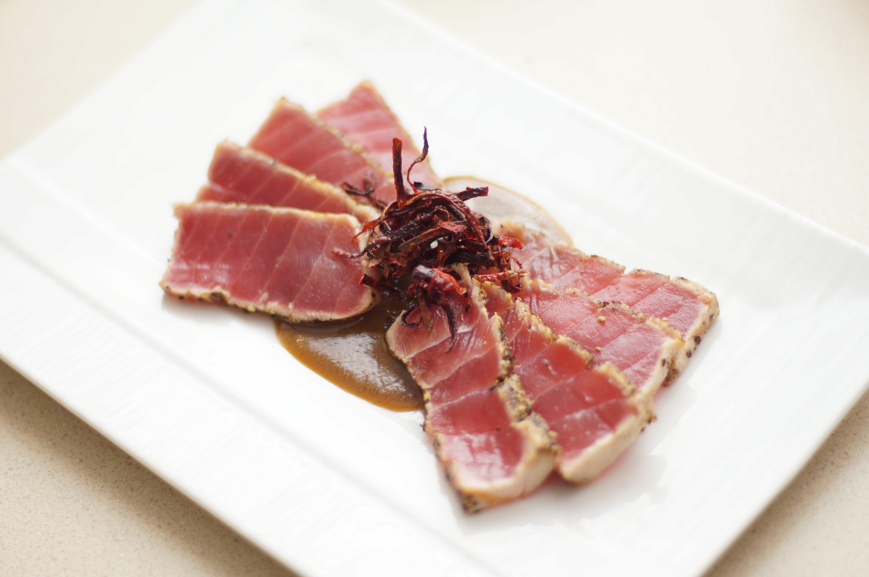 Tuna Tataki Recipe Chichilicious Com